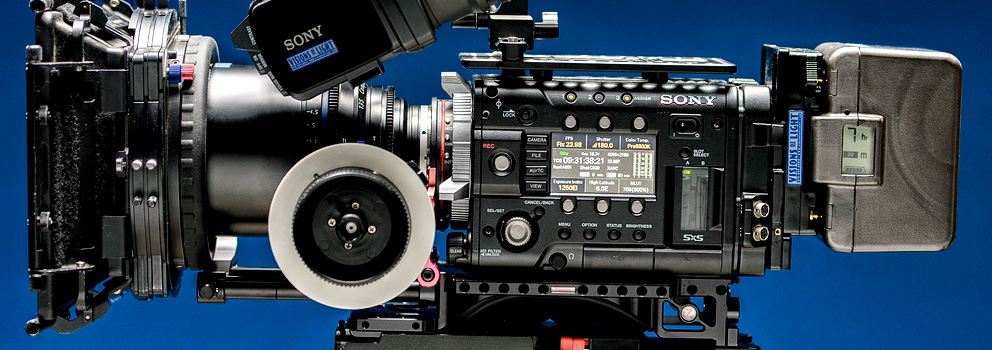 Sony F55 Camera Crew Chicago